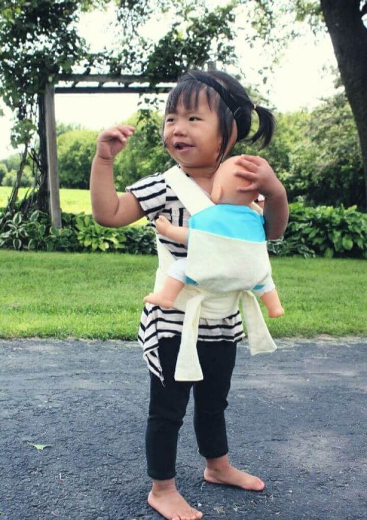 Easy DIY Baby Doll Carrier Free Pattern And Tutorial