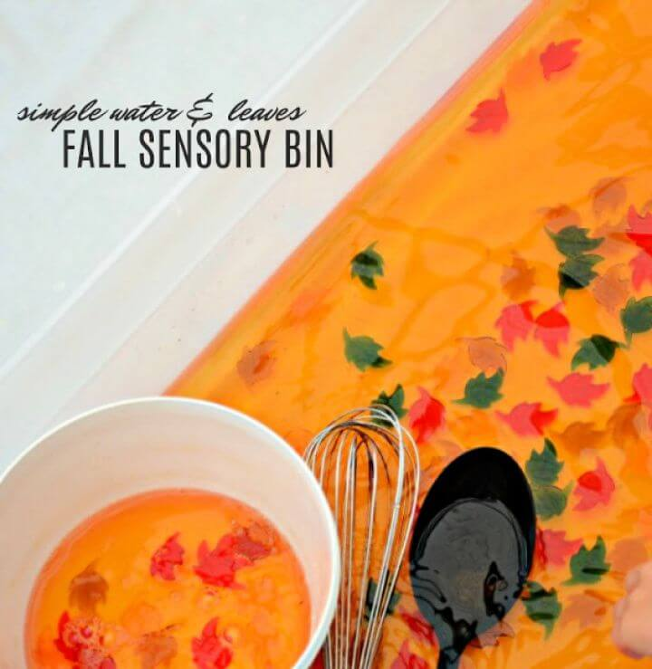 Easy DIY Fall Leaves Soup