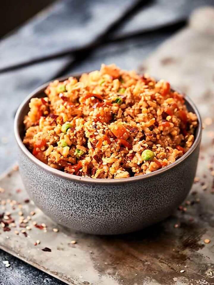 Easy DIY Ground Turkey Fried Rice Recipe 2