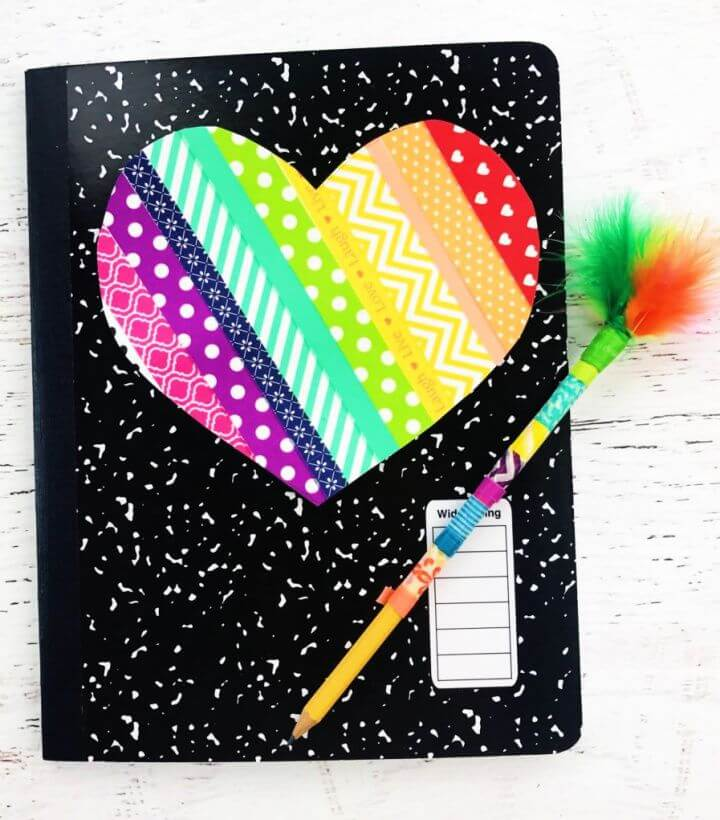 Easy DIY Notebook Ideas For Kids