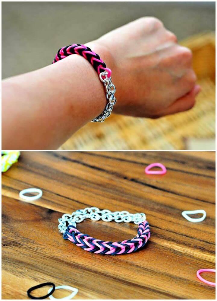 Easy DIY Rainbow Loom Bracelets For Adults