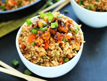 Easy DIY Vegan Fried Rice