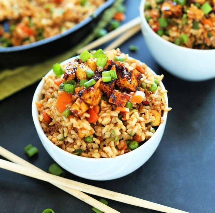 Easy DIY Vegan Fried Rice