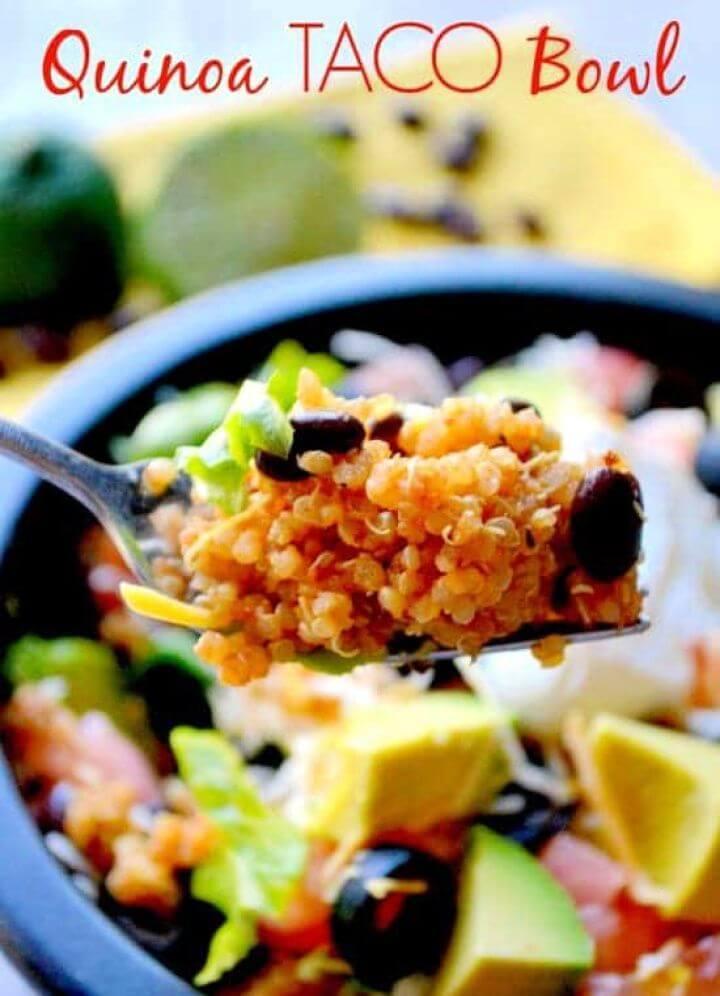 Easy Quinoa Taco Bowls