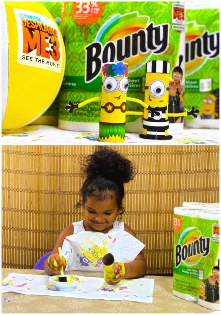 Fun And Easy DIY Minions Craft