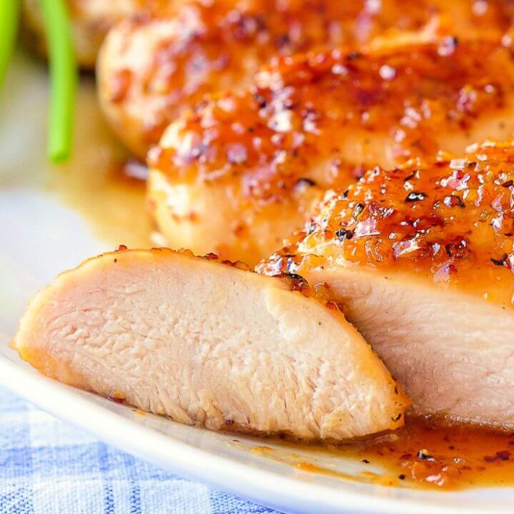 Honey Dijon Garlic Chicken Breasts