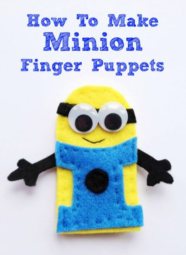 How To Create A DIY Minion Finger Puppets