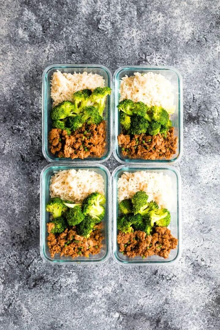 How To DIY Korean Turkey Meal Prep 2