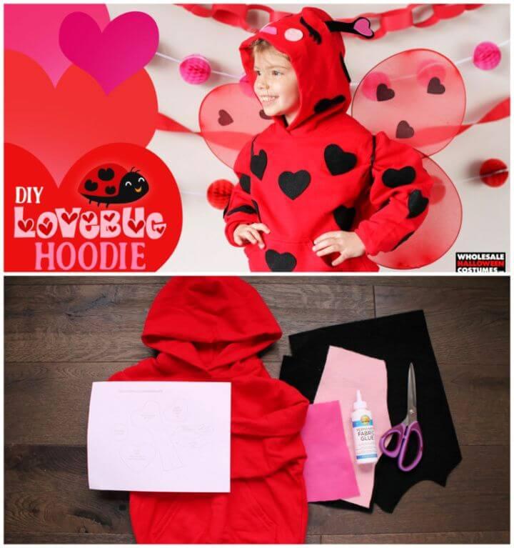 How To DIY Lovebug Hoodie