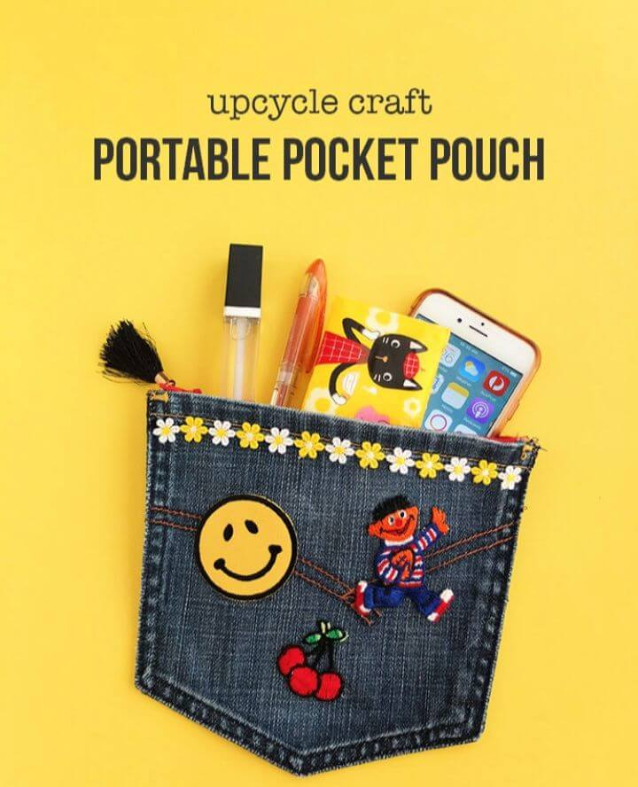 How To DIY Portable Pocket Pouch