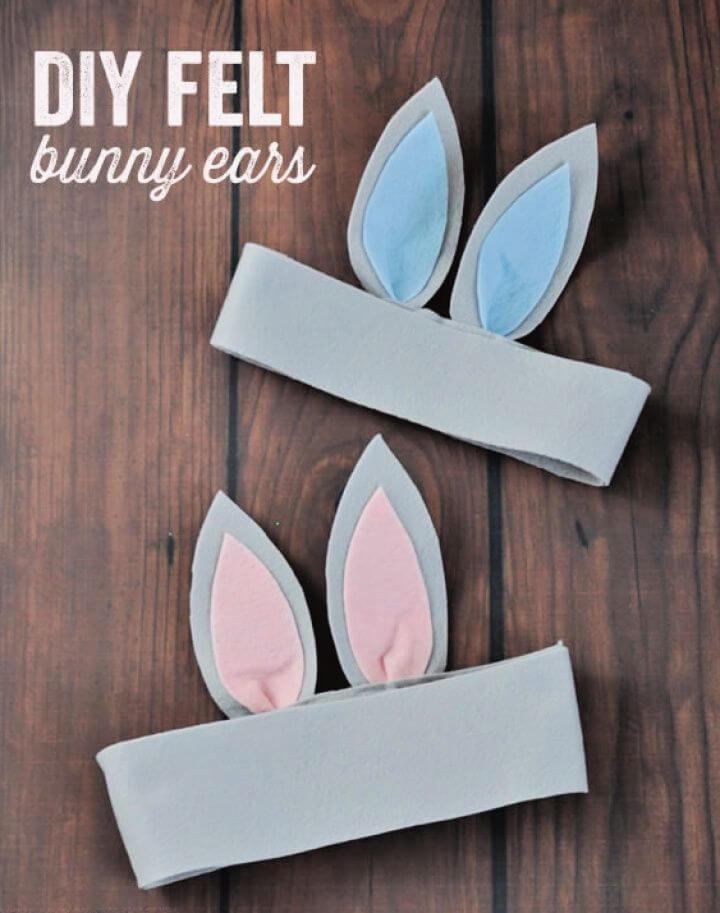 How To Make A DIY Felt Bunny Ears