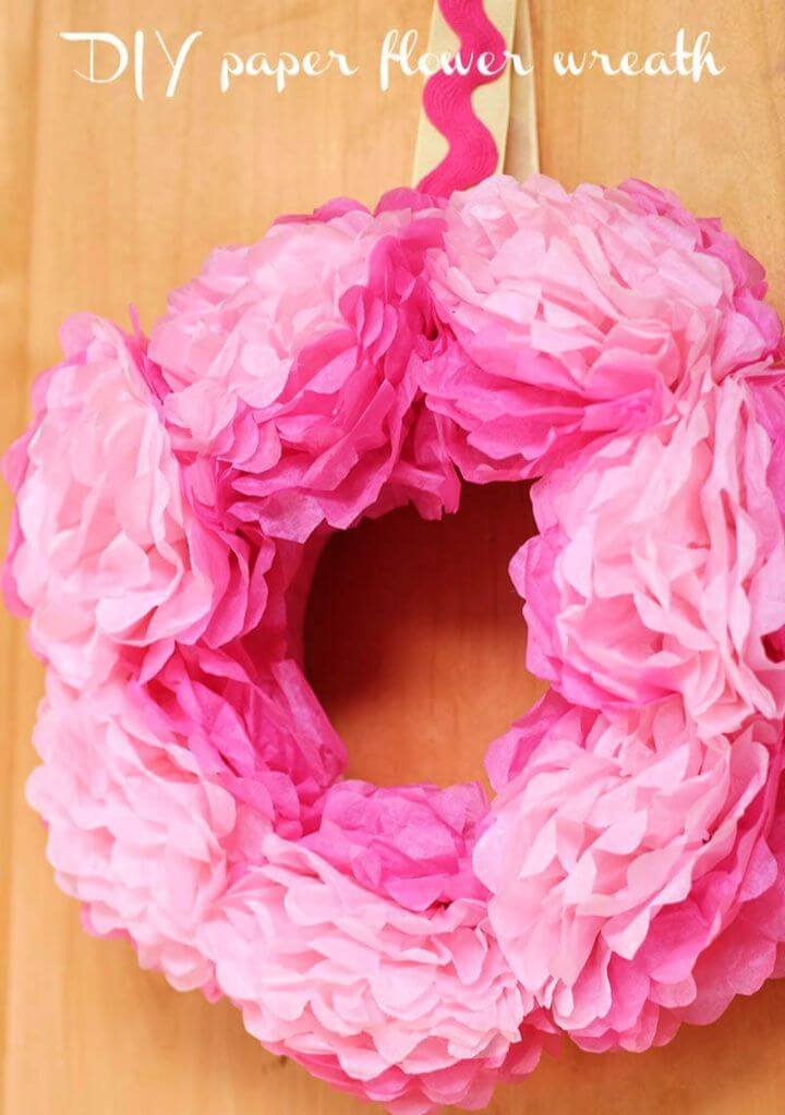 How To Make A DIY Tissue Paper Flowers