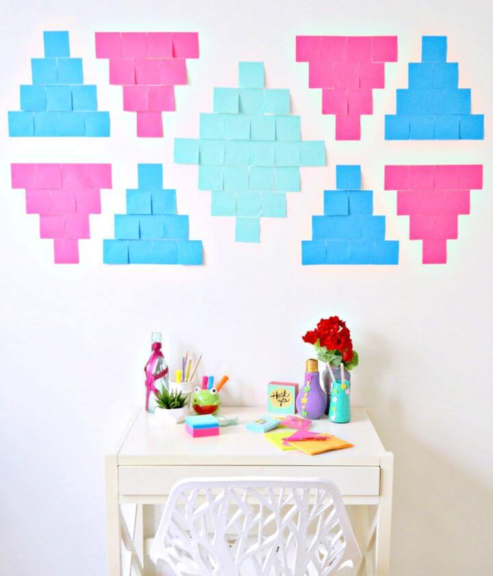 How To Make DIY Southwestern Inspired Goal Setting Wall