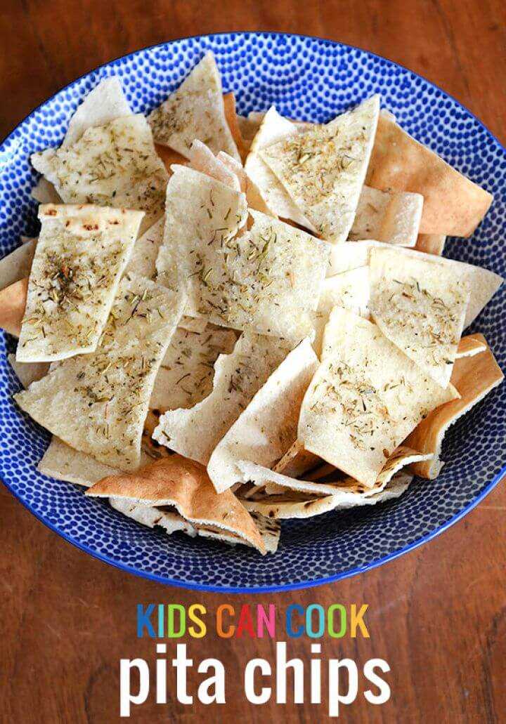 How To Make Pita Chips