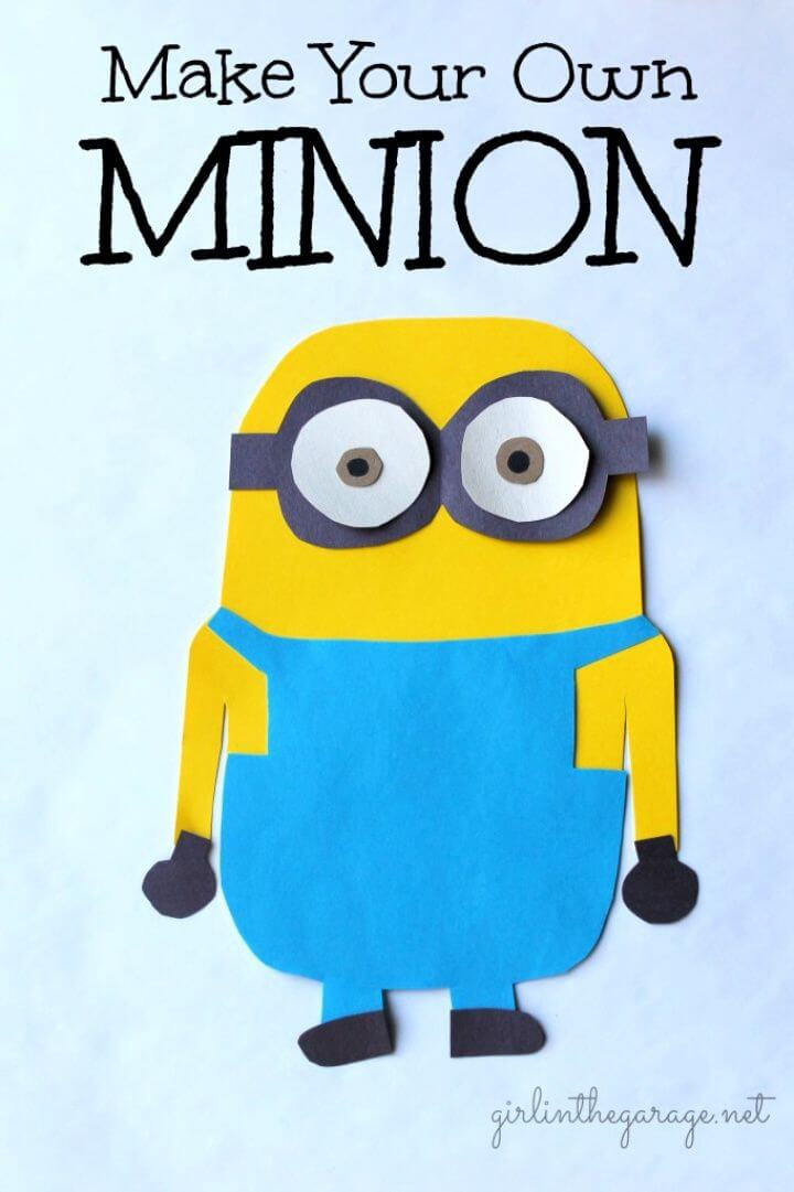 How To Make Your Own DIY Minion