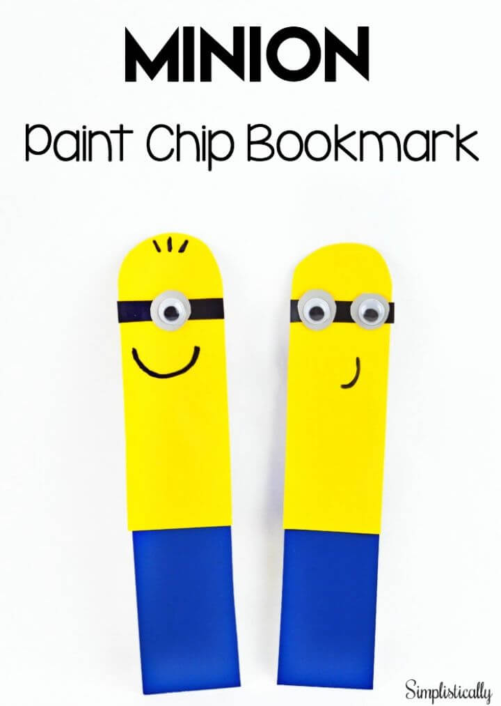 How To Paint Chip Minion Bookmark