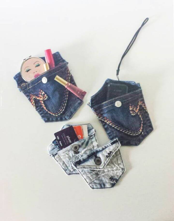 How To Repurposed Old Jeans Pocket