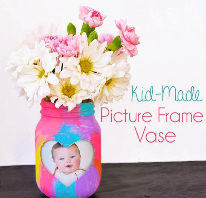 Made Picture Frame Vase