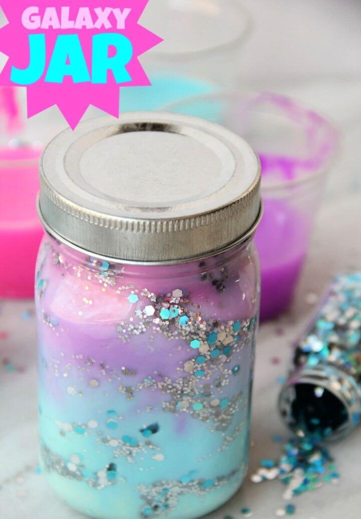 Make A DIY Galaxy Jar