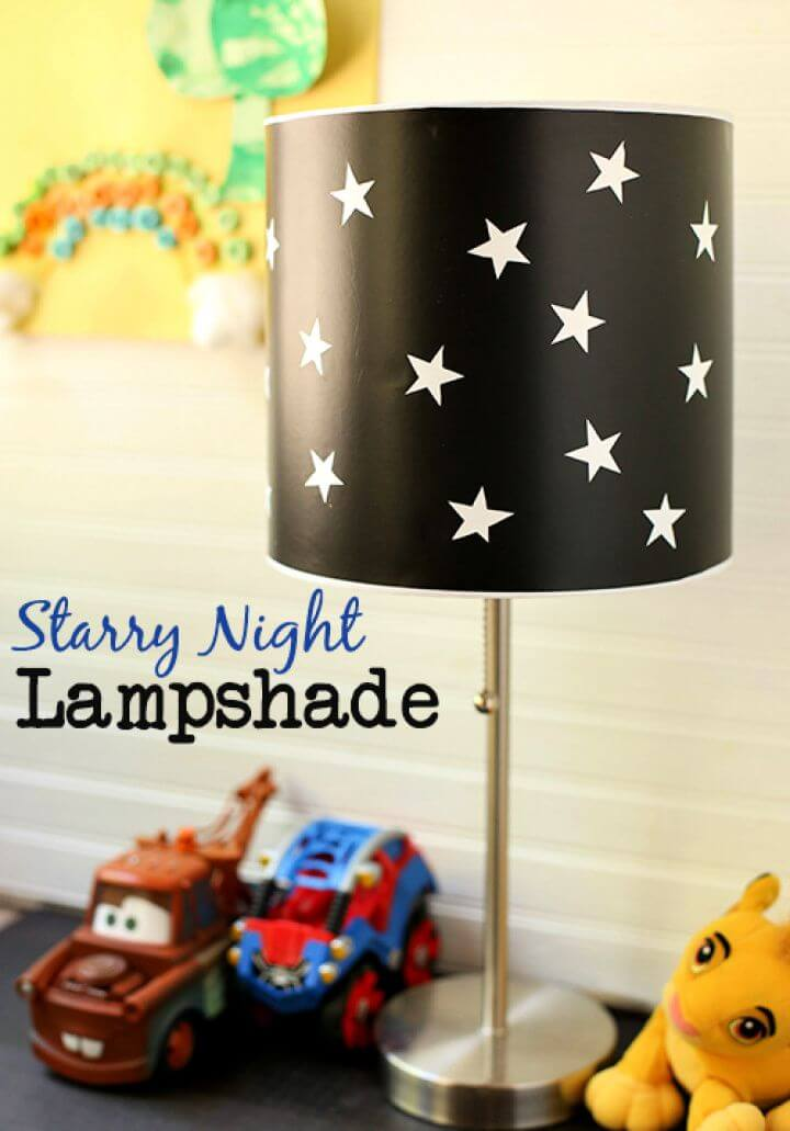 Make A DIY Starry Sky Lamp With Led Power