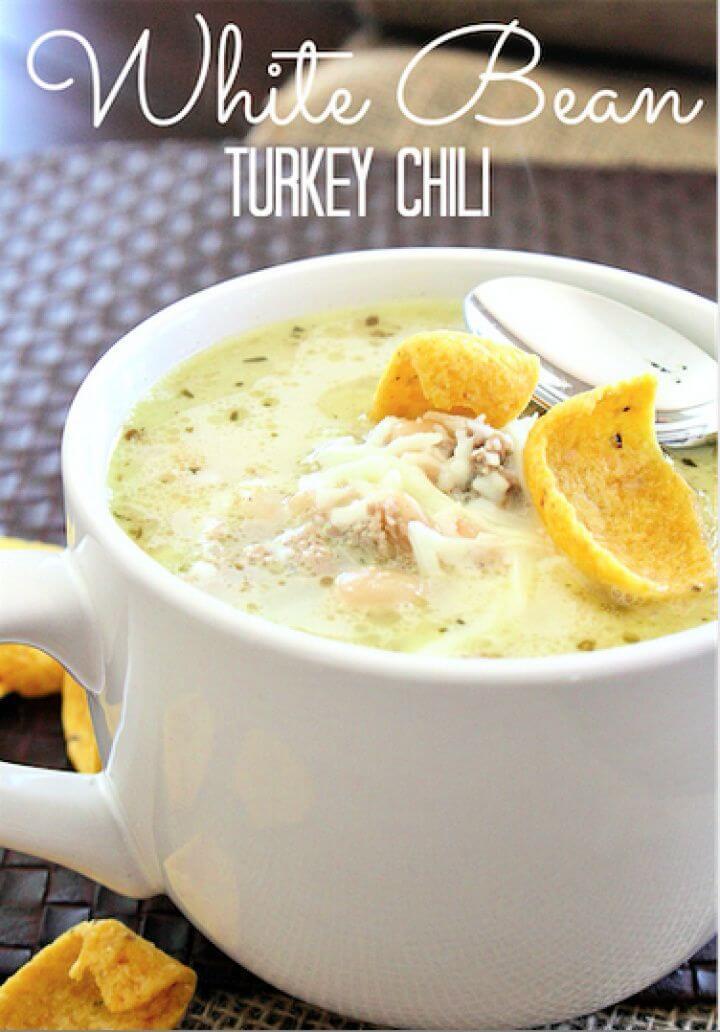 Make A DIY White Bean Turkey Chili 2