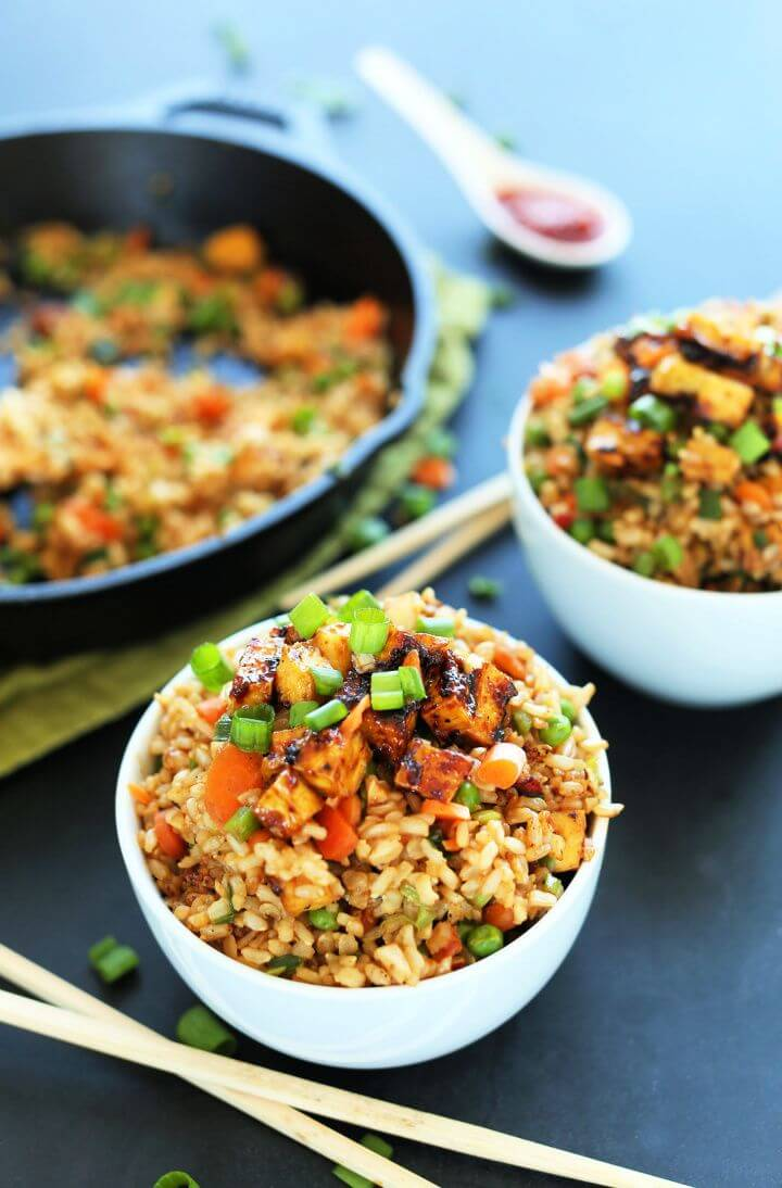 Make A Easy DIY Vegan Fried Rice