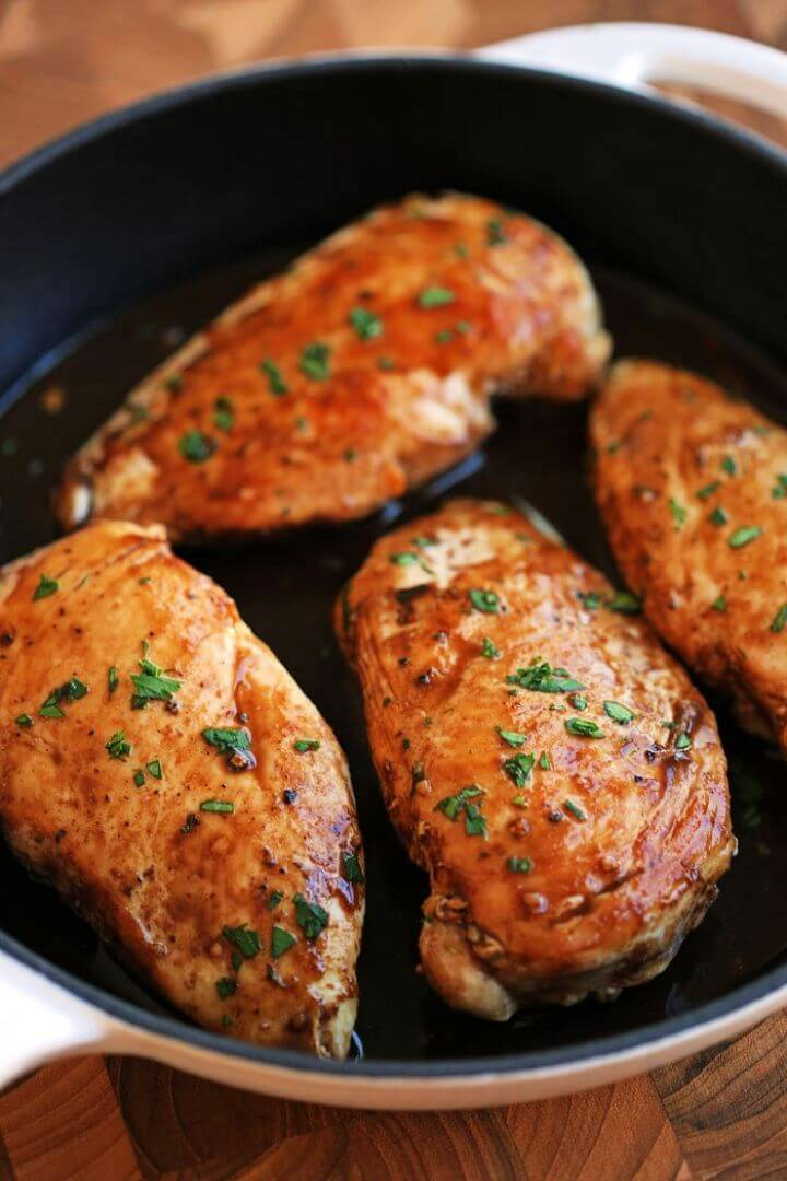 Maple Balsamic And Herb Chicken