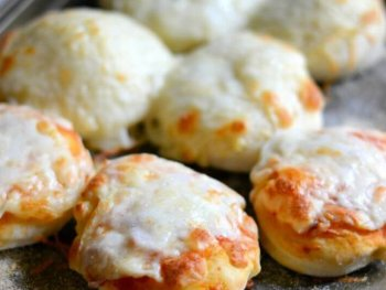 Mini Pizzas With Homemade Pizza Dough