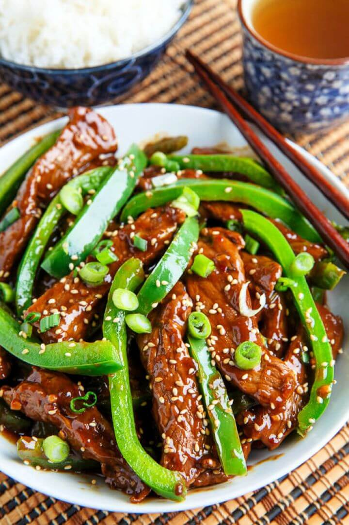 Quick And Easy Beef And Pepper Stir Fry