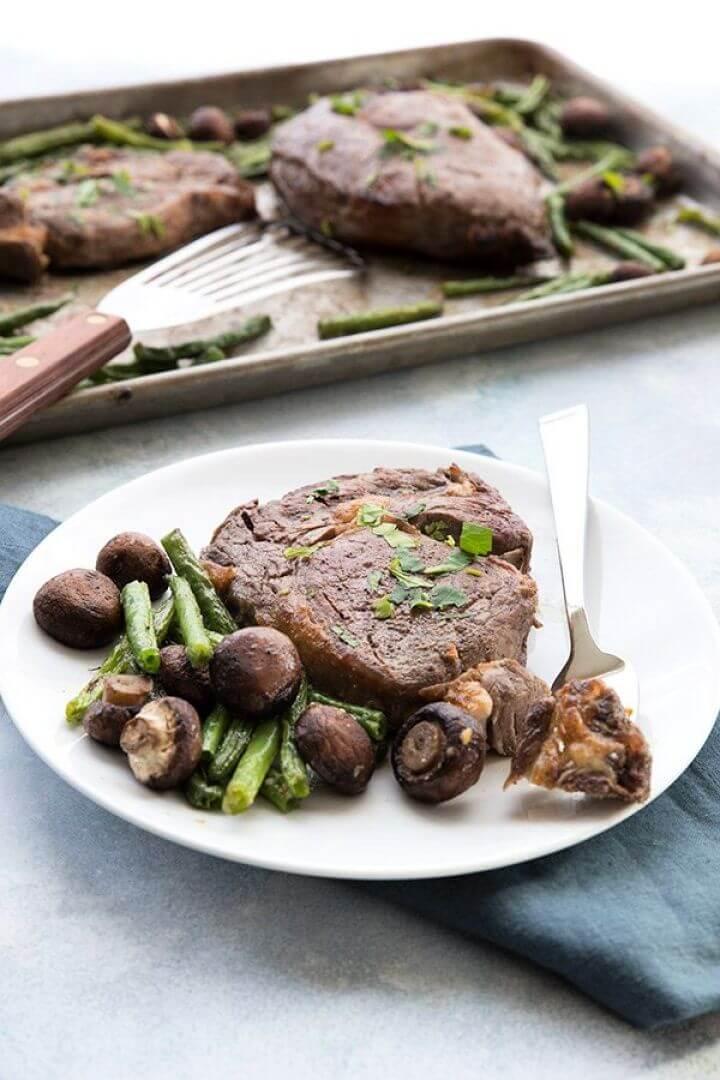 Sheet Pan Steakhouse Dinner