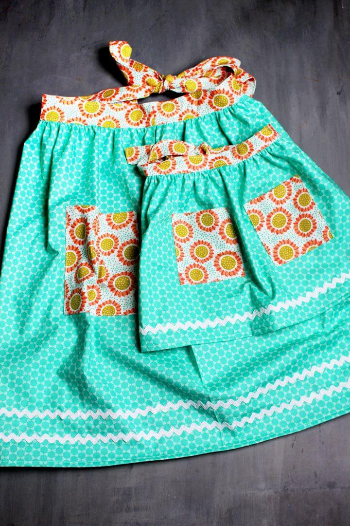Simple To Sew Apron DIY Gift