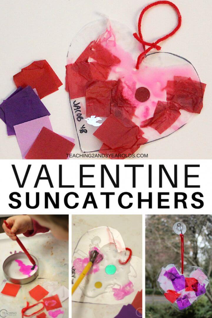 Super Fun And Colorful Toddler Valentine Craft