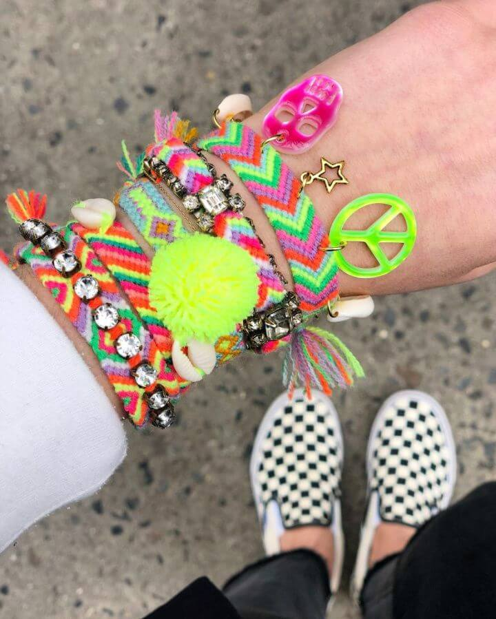 5 Easy Ways to Embellish Friendship Bracelets