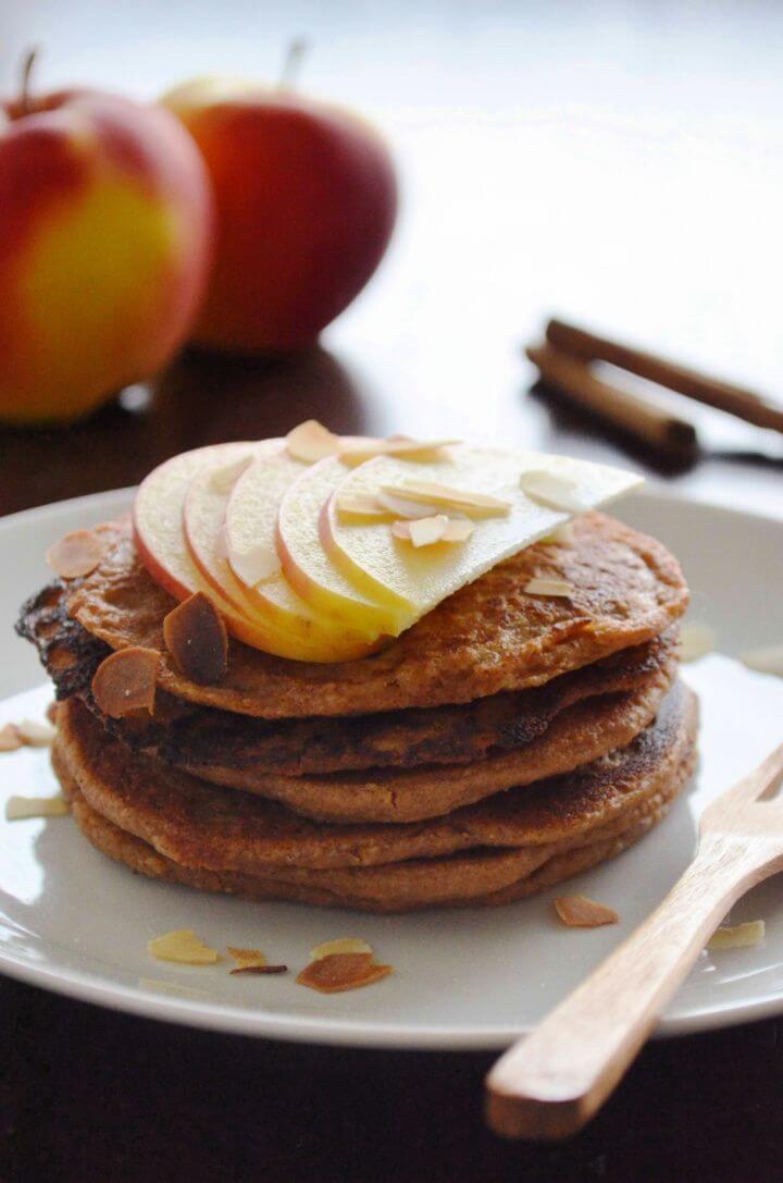 Autumn Apple Pancakes