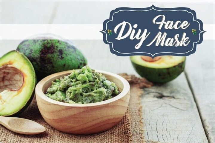 Avocado and Flax Benefits DIY Face Mask