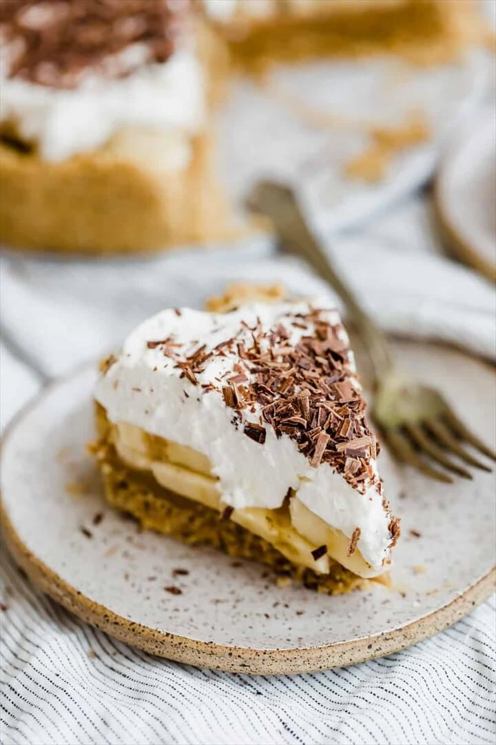 Banoffee Pie Recipe Idea