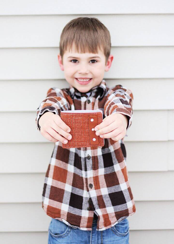 Basic DIY Wallet For Boys