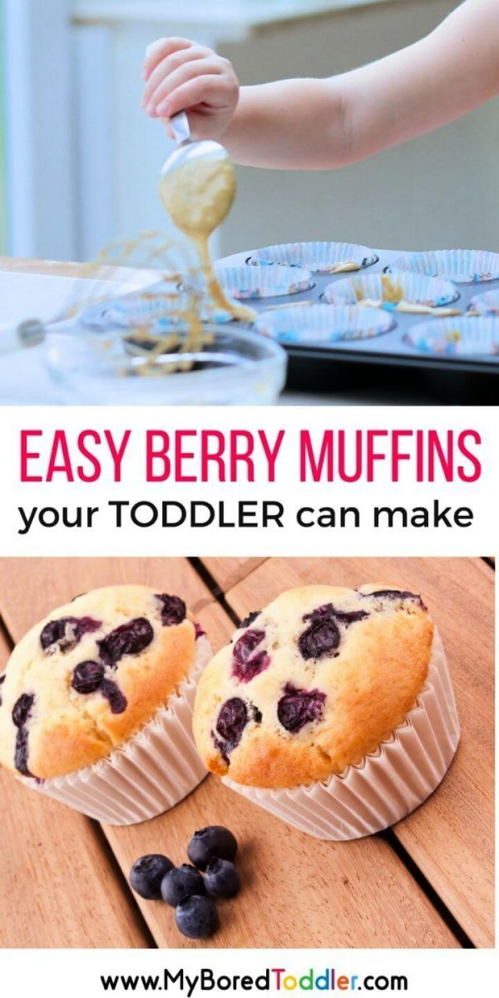 Berry Muffin Recipe For Toddlers To Make