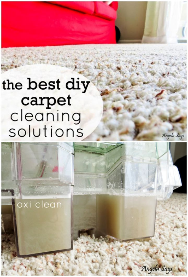 Best DIY Carpet Cleaning Solutions