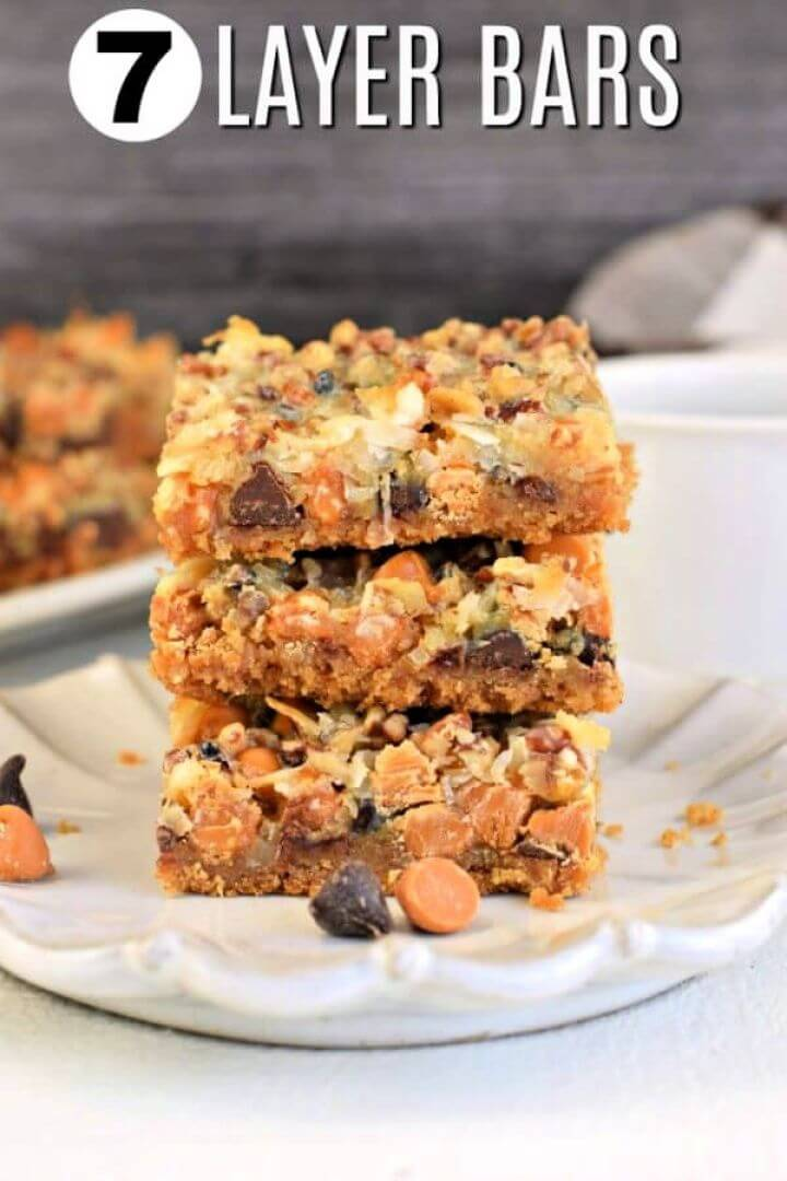 Best Easy Seven Layer Cookie Bars Recipe