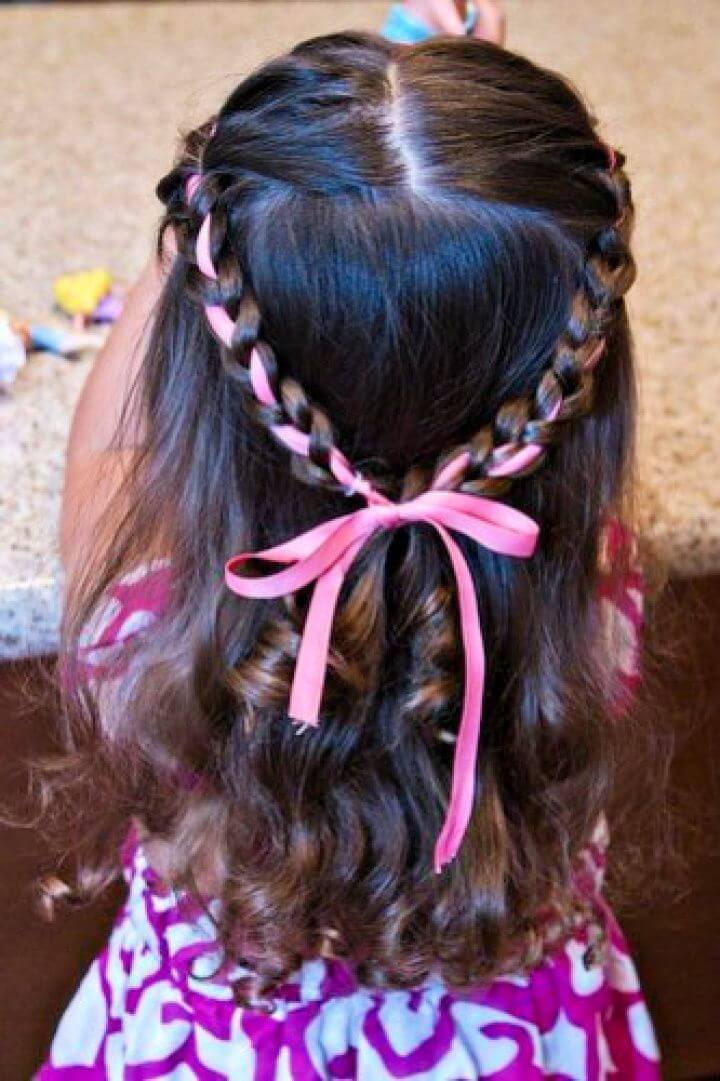 Braided Princess Crown For Toddler