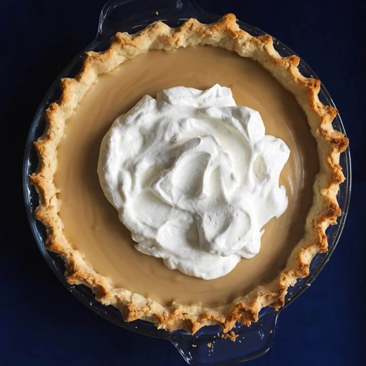 Butterscotch Pudding Pie Whipped Cream