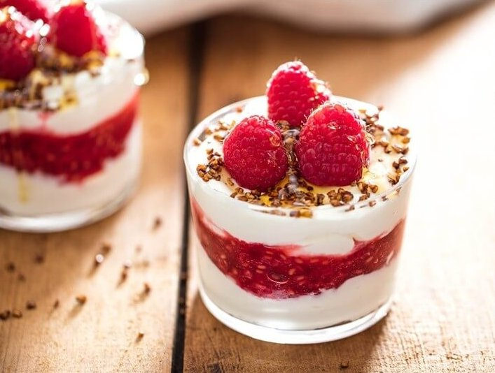 Cranachan Scottish Whipped Cream With Whisky Raspberries and Toasted Oats Recipe
