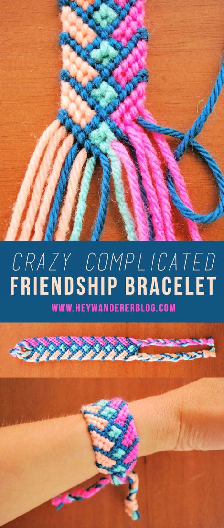 Crazy Complicated Friendship Bracelet