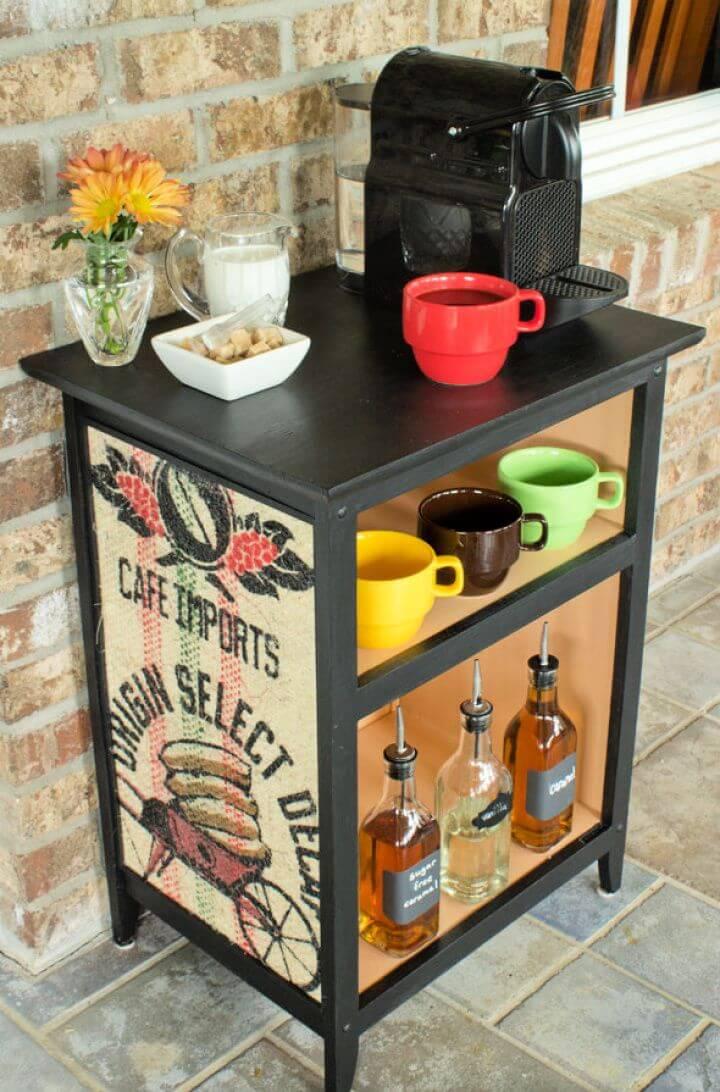 Create A DIY Home Decor Projects Using Burlap Coffee Sacks