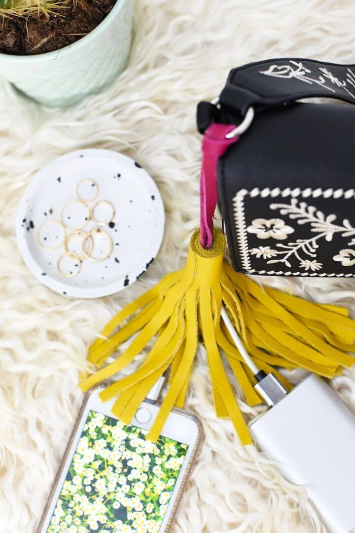 Create A DIY Tassel Cable Portable Charger