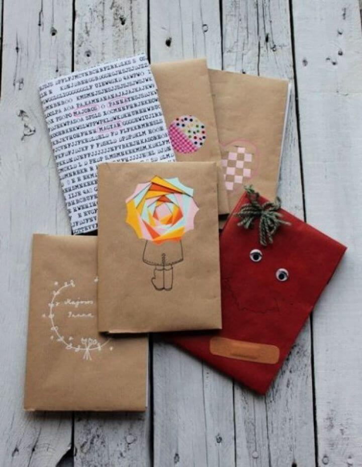 Creative DIY Booklet Covers Are Cost Effective