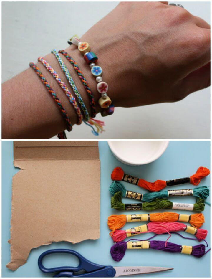 Cute DIY Friendship Bracelet Tutorial