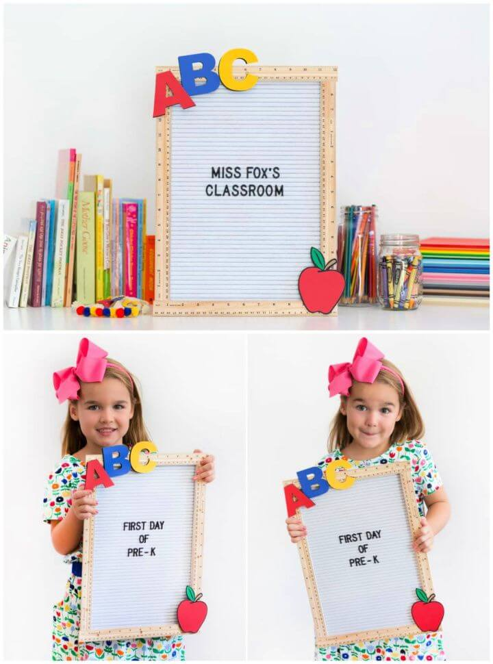 DIY Back To School Teacher Gift Idea