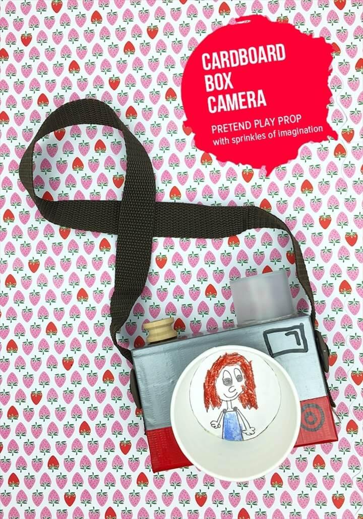 DIY Cardboard Box Camera